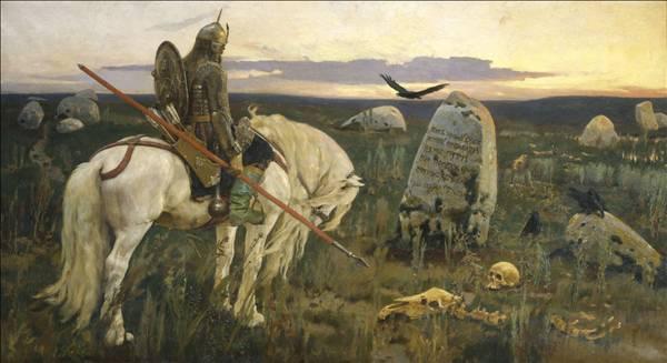 Витязь на распутье В. Васнецов