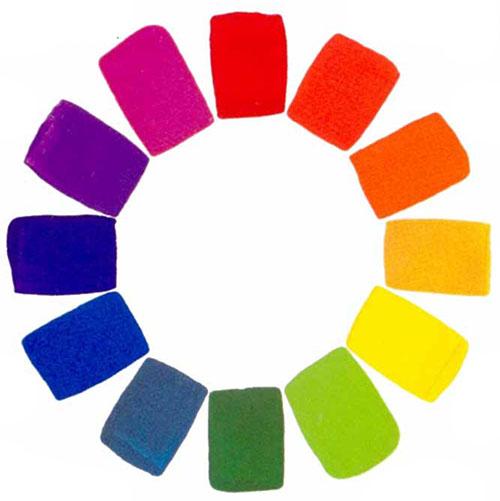 Как получить цвет из красок