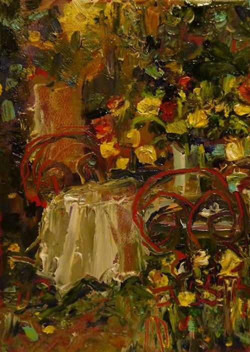 Занятие живописью я очень люблю! Ольга Соболева и Татьяна Королёва