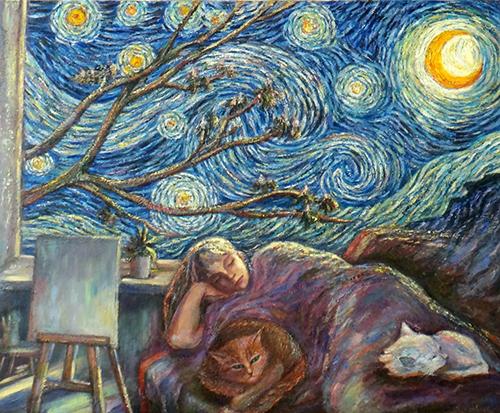 Занятие живописью я очень люблю! Ольга Соболева и Татьяна Королёва.